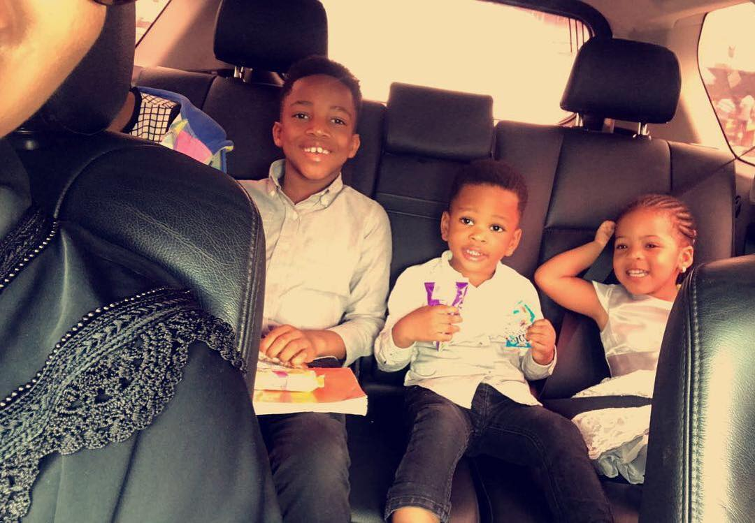 Flavour's Daughter And Joseph Yobo's Son Pictured In Loving Embrace (2)
