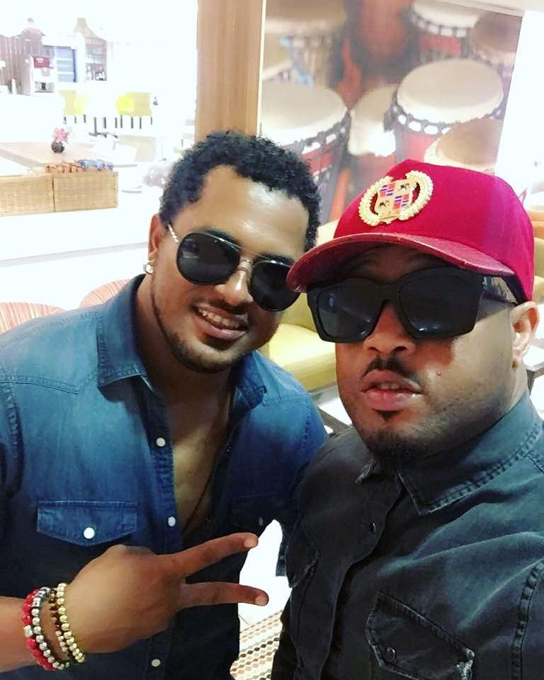 Van Vicker And Mike Ezuruonye Pictured Together (1)