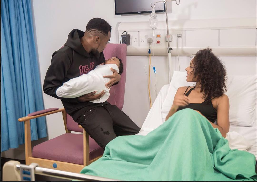 Patoranking Welcomes Baby (1)