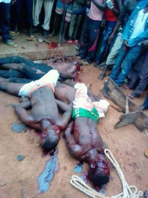Suspected Kidnappers Caught In Taraba State (1)