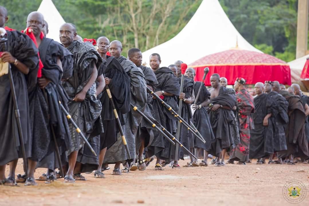 Nana Akufo-Addo Visited Major Maxwell Mahama Murder Site In Denkyira-Obuasi (3)