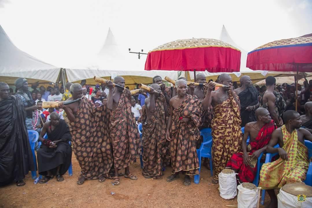 Nana Akufo-Addo Visited Major Maxwell Mahama Murder Site In Denkyira-Obuasi (5)