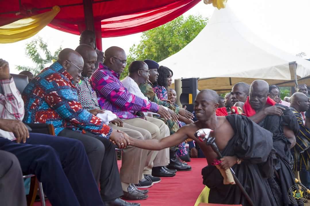 Nana Akufo-Addo Visited Major Maxwell Mahama Murder Site In Denkyira-Obuasi (7)