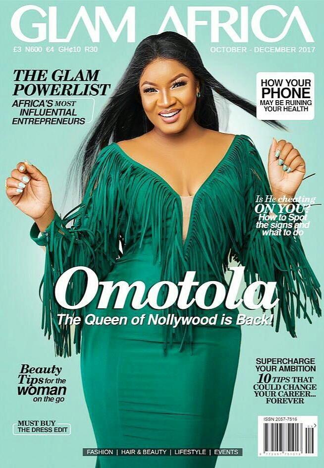 Omotola Jalade Ekeinde Glam Africa Magazine Photoshoot (1)