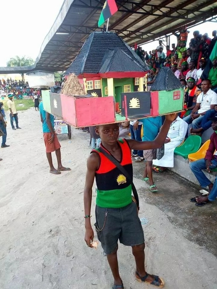 Nigerian Boy From The South-East Has Constructed A Biafran-Themed House (1)