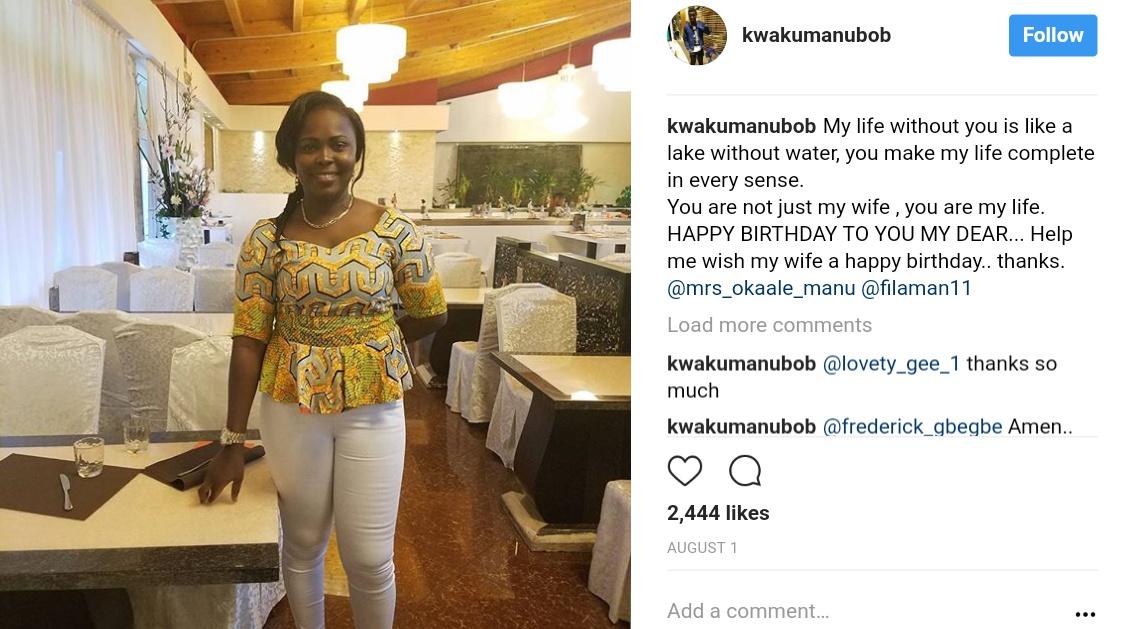 Kwaku Manu And Family Were Captured On Board Plane Heading To USA (1)