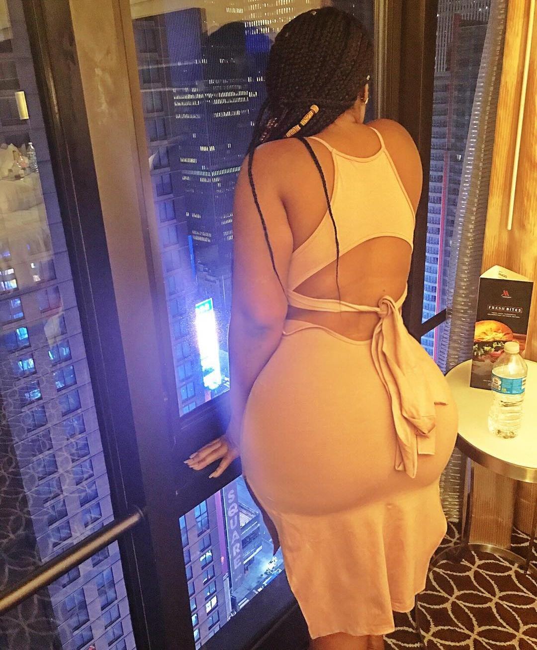 Moesha Boduong Puts Her Enormous Butt On Display (1)