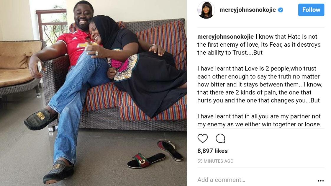 Mercy Johnson And Husband Prince Odi Okojie Celebrate 6th Wedding Anniversary (1)