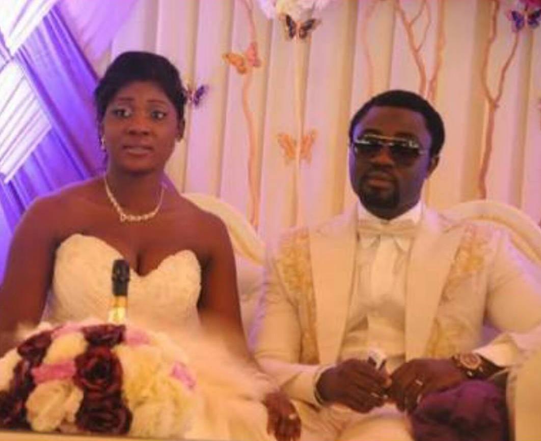 Mercy Johnson And Prince Odi Okojie Wedding Photo