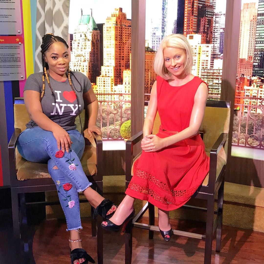 Moesha Boduong Visited Madame Tussauds (9)