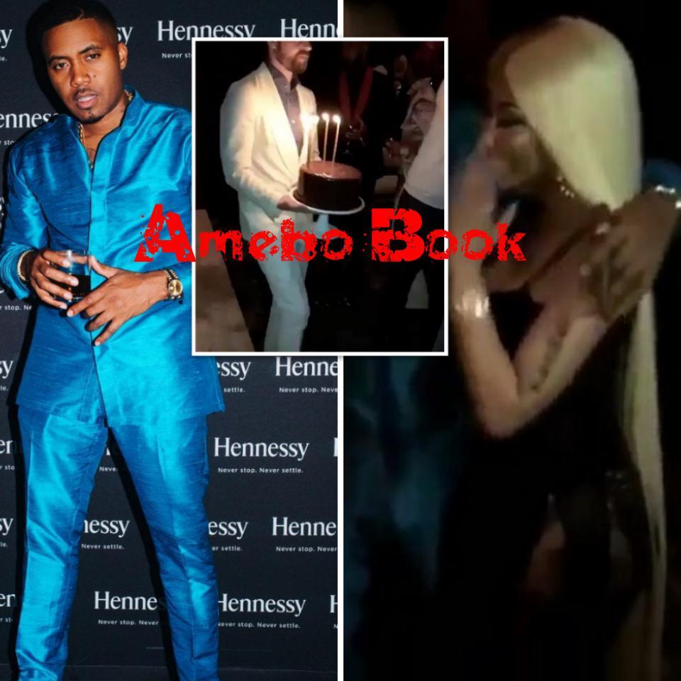 Nas And Nicki Minaj Cozy Up At His 44th Birthday Bash