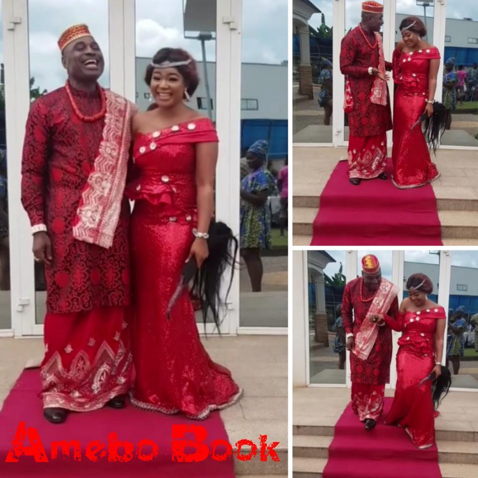 Kenneth Okonkwo And Rachael OkonkwoAre The Perfect Couple On Movie Set