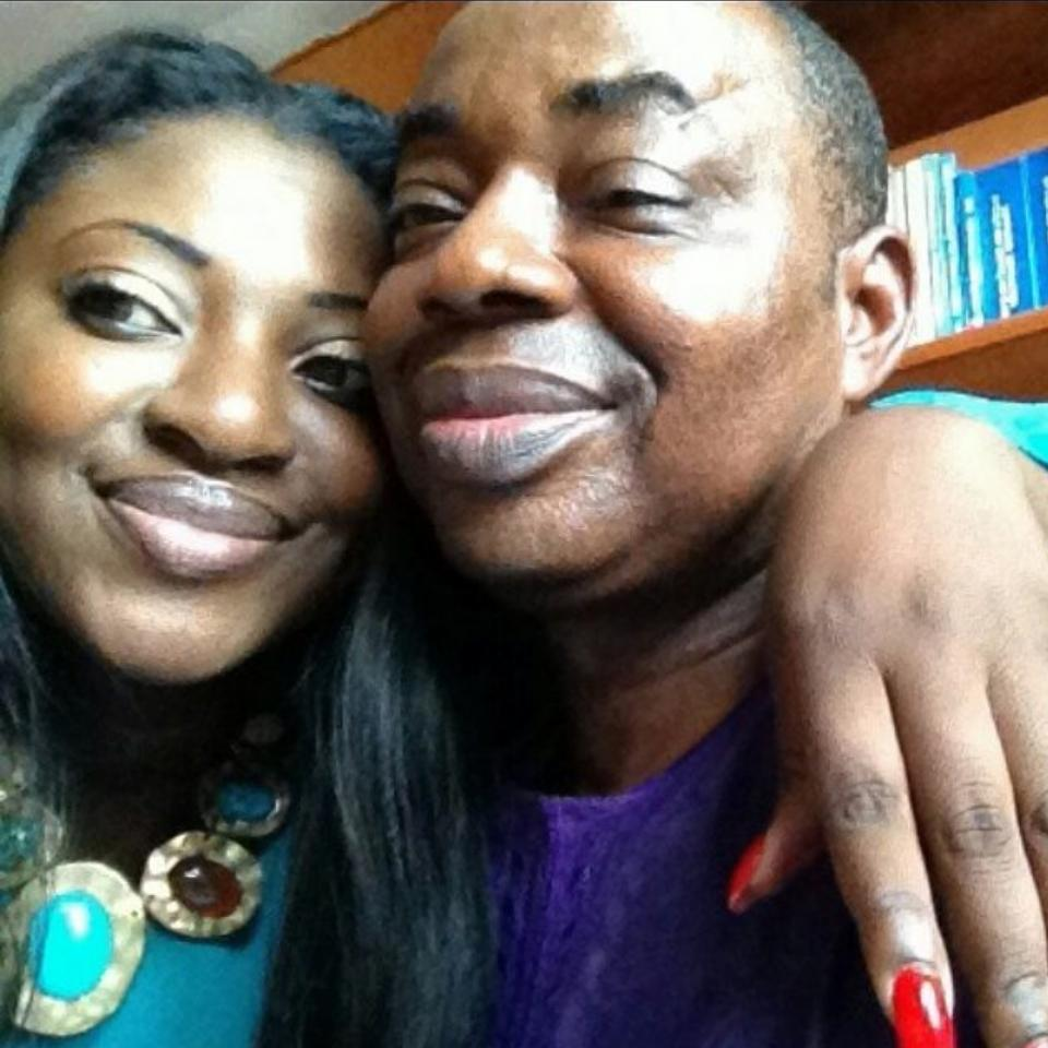 Celebrity Wedding Login: Yvonne Jegede And Her Father Resemble So Much (Photo