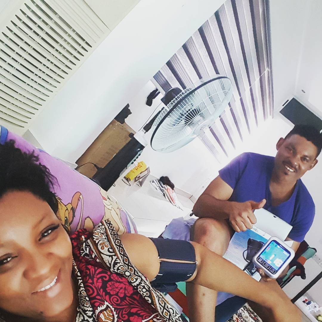 Omotola Jalade Hints She Has Been Sick (1)