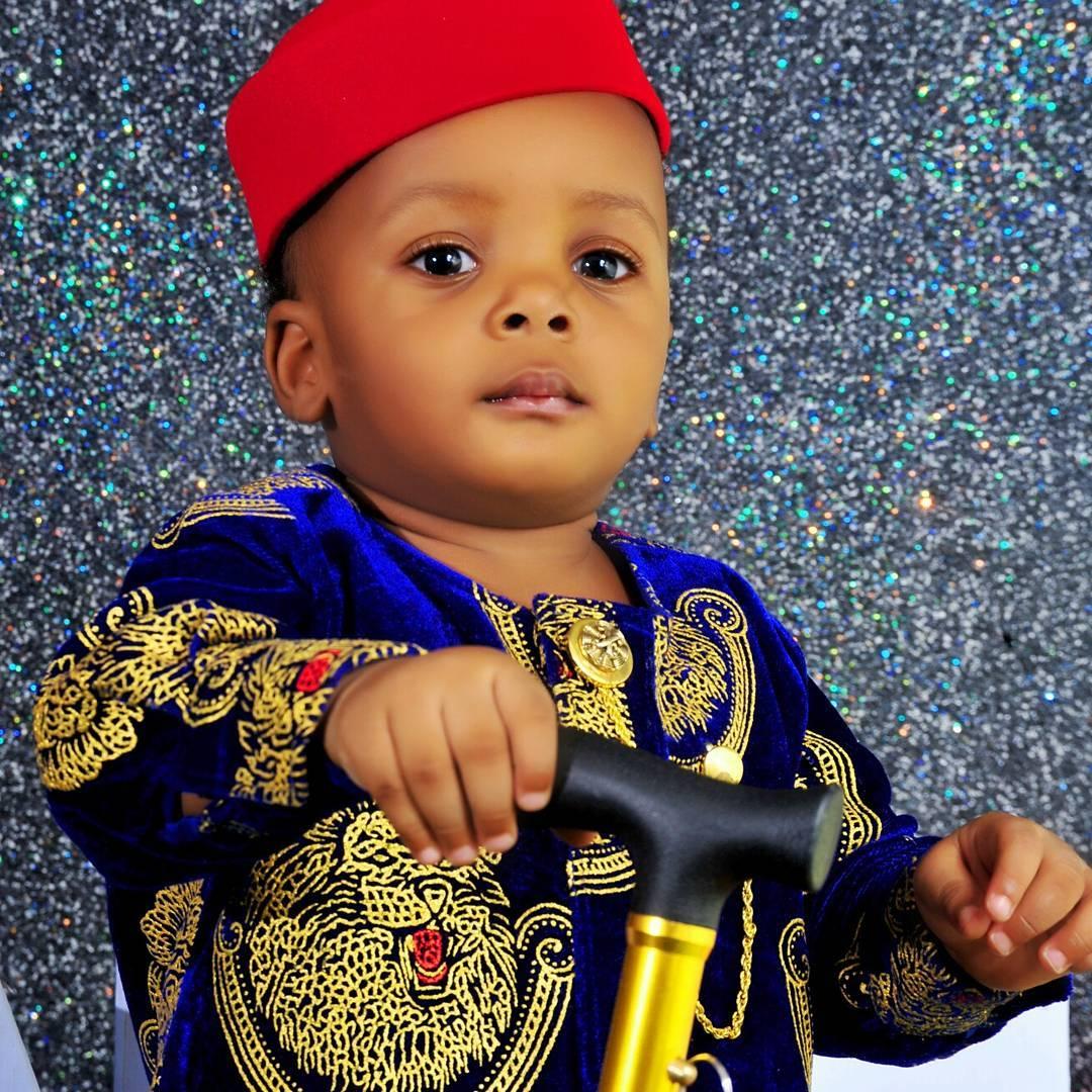 Junior Pope And Wife Celebrate Son Jaden Jidenna Odonwodo 1st Birthday (5)