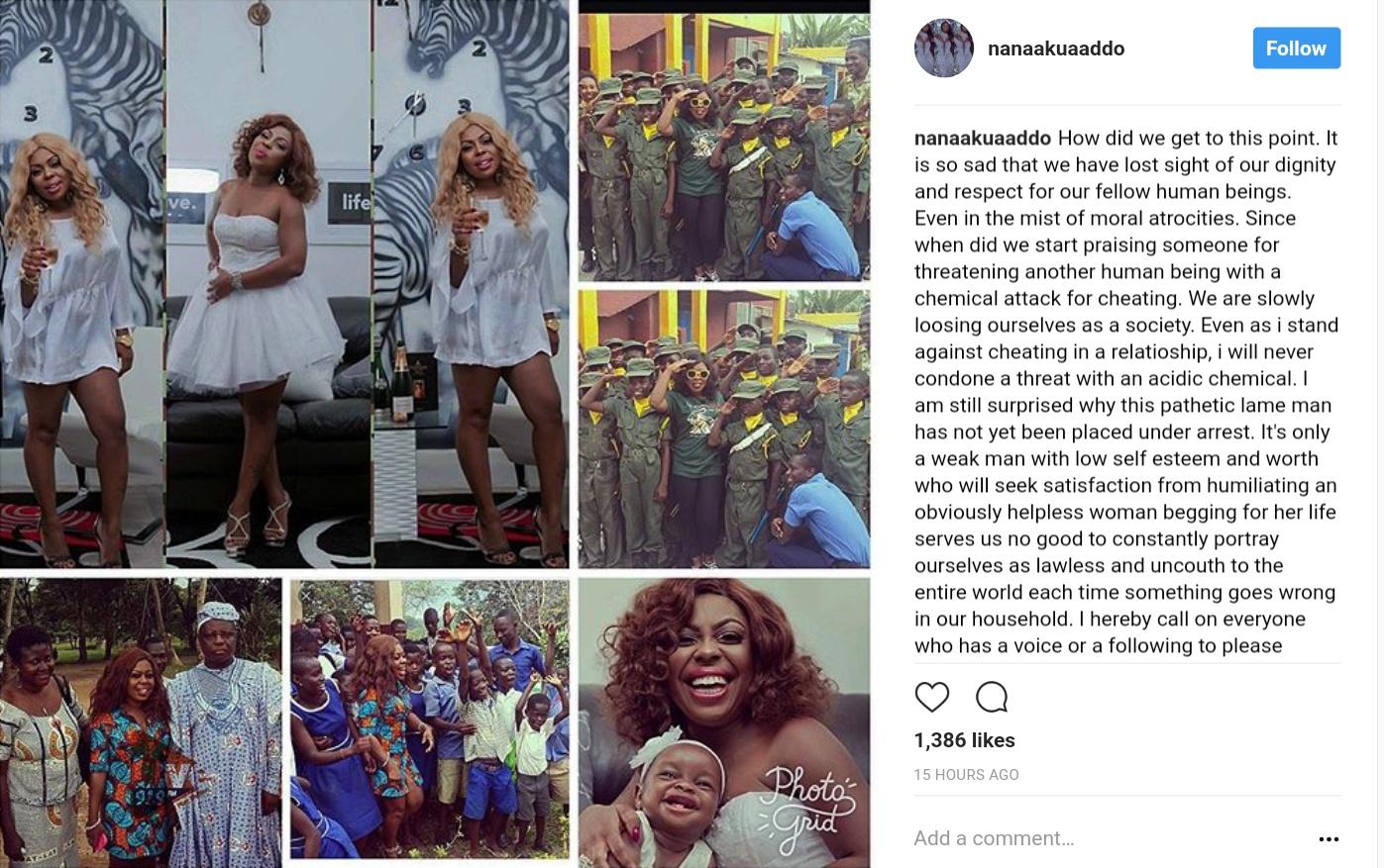 Nana Akua Addo Supports Afia Schwarzenegger