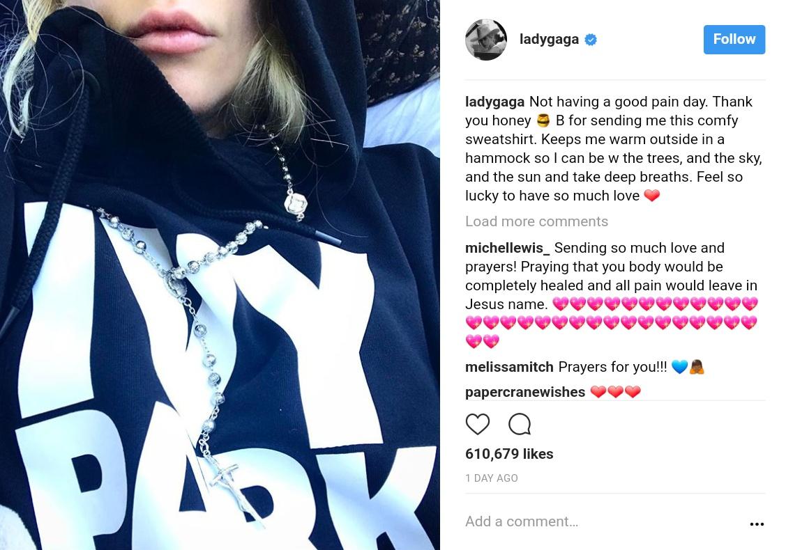 Beyonce Sent Lady Gaga An Ivy Park Hoodie And Roses (1)