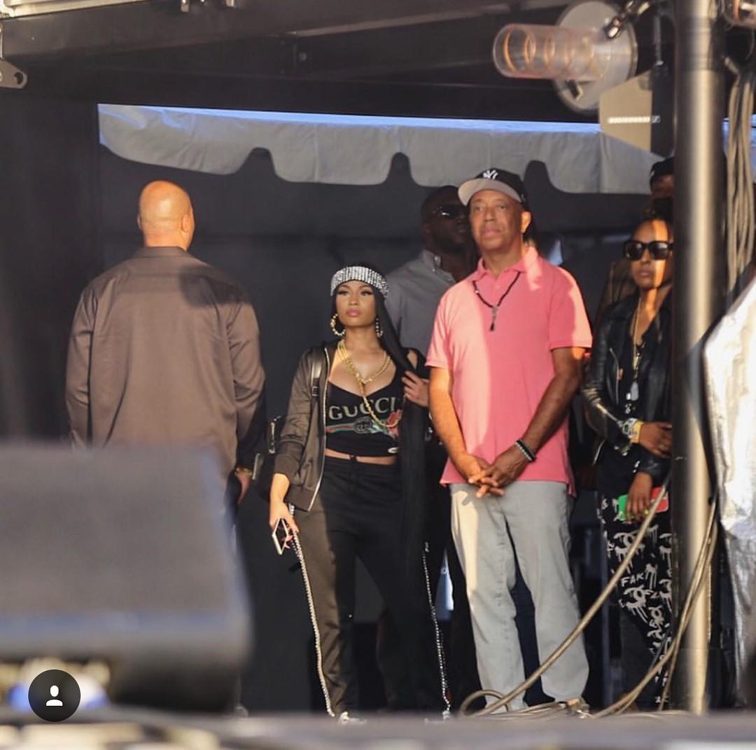 Nicki Minaj At The Meadows Festival