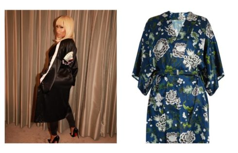 Nicki Minaj Discloses The Latest Robe/Dress Trend Is Her New favorite Thing