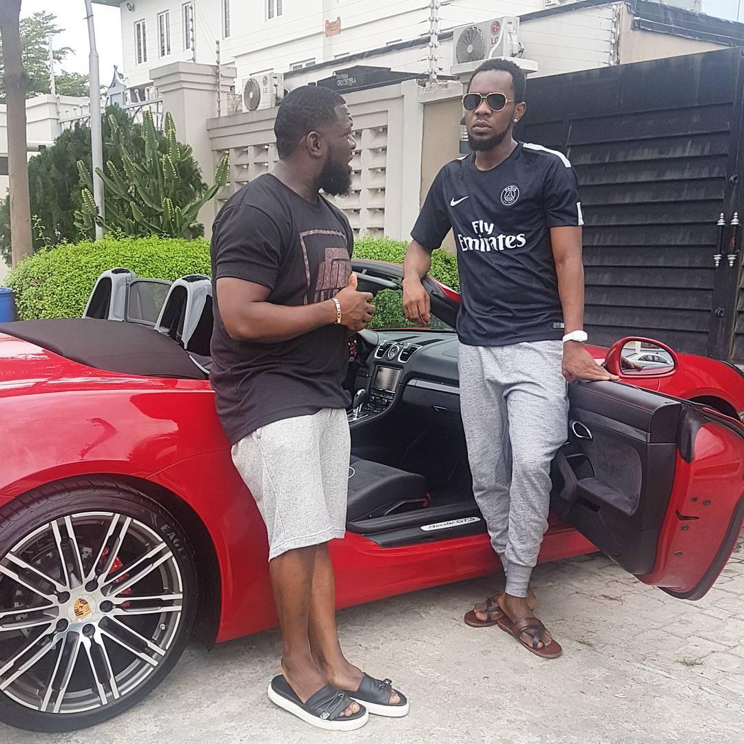 Timaya Hails Patoranking Over His Brand New Ferrari (1)