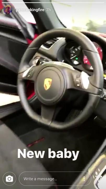 Patoranking Brand New Ferrari (1)