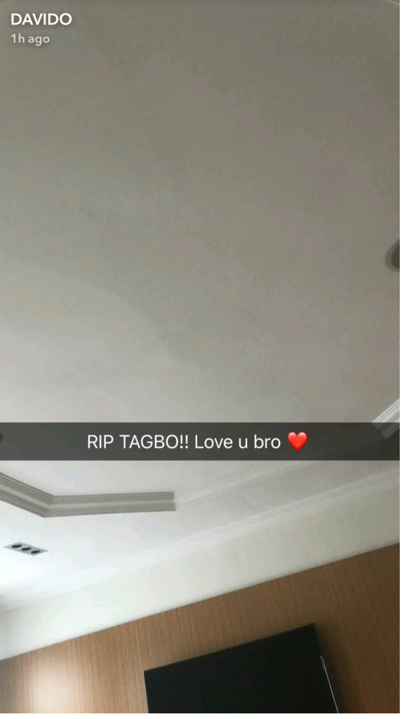 Final Moments As Tagbo Celebrates Birthday With Davido And Crew , Singer Breaks Silence Tagbo (3)