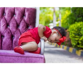 Baby Lorde Photoshoot