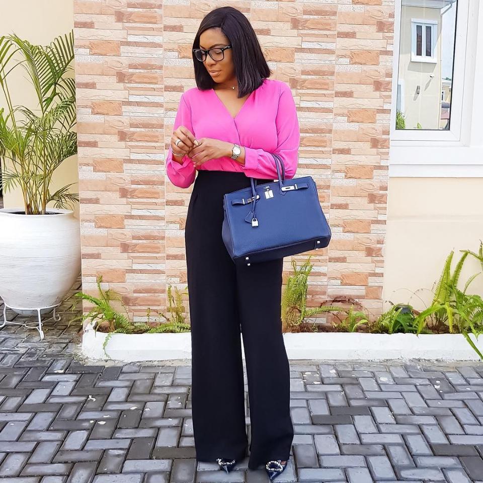 Chika Ike Flaunts Her Hermes Birkin Bag
