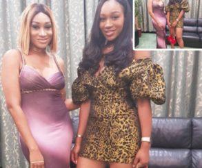 Ebube Nwagbo Pictured Alongside Oge Okoye At Her Birthday Dinner,