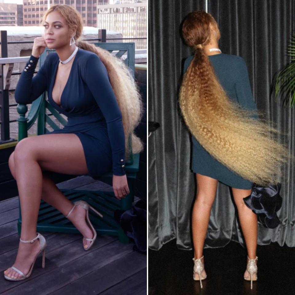 Beyonce Emerald Green Ensemble At Serena Williams And Alex Ohanian Wedding