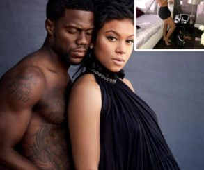 Kevin Hart Shared An Adorable Photo Of Wife Eniko Parrish Cradling Newborn Son Kenzo Kash