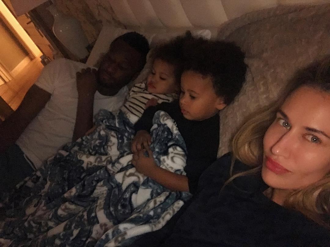 family affair mikel obi and olga alongside daughters