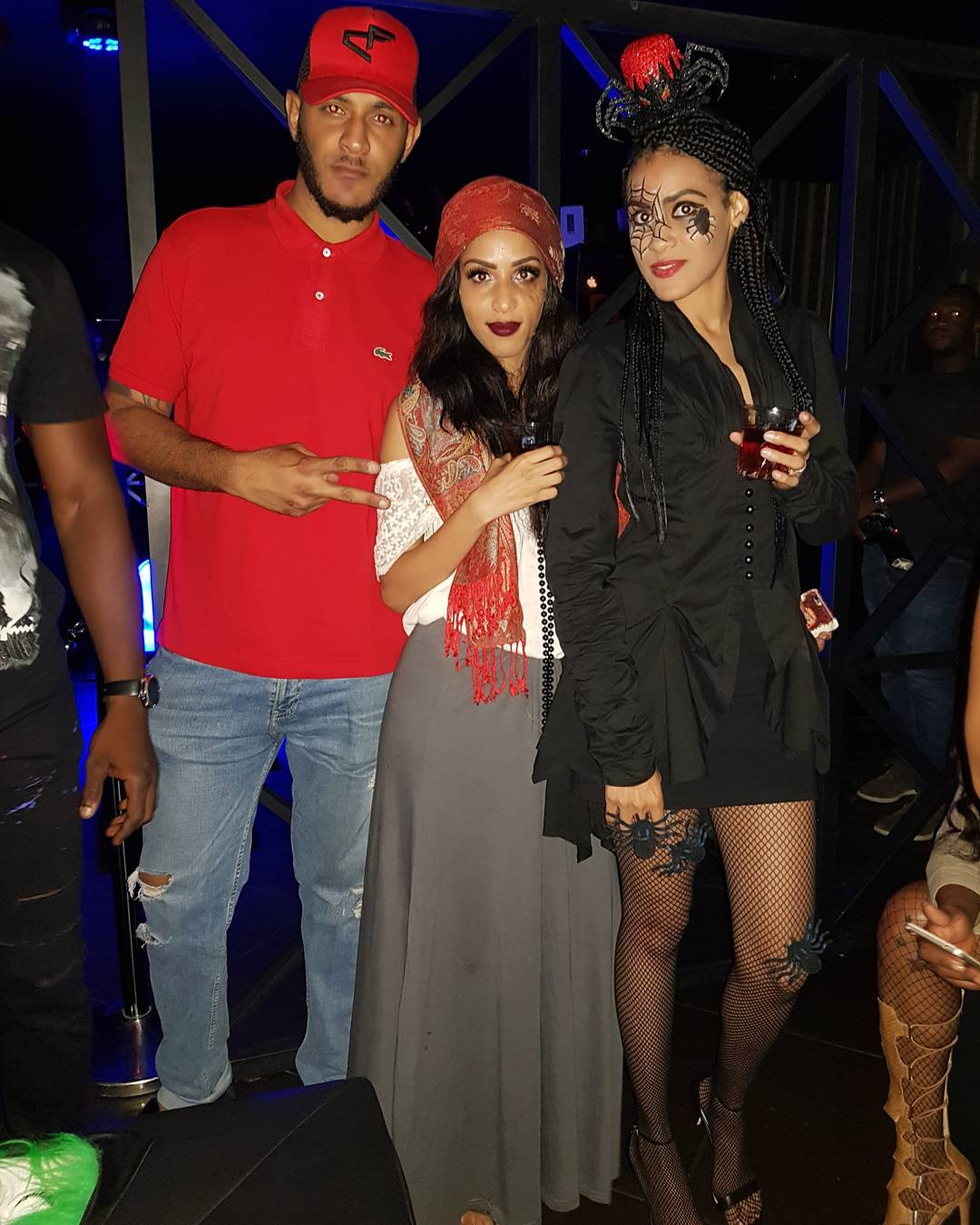 Juliet Ibrahim Steps Out As Catholic Sister For Her Charity Costume Party (5)