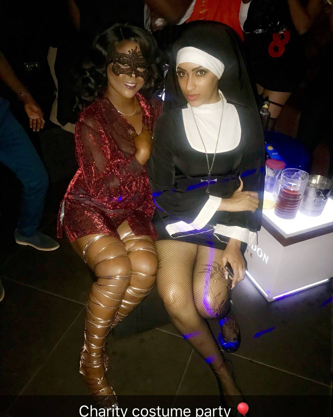 Juliet Ibrahim Charity Costume Party