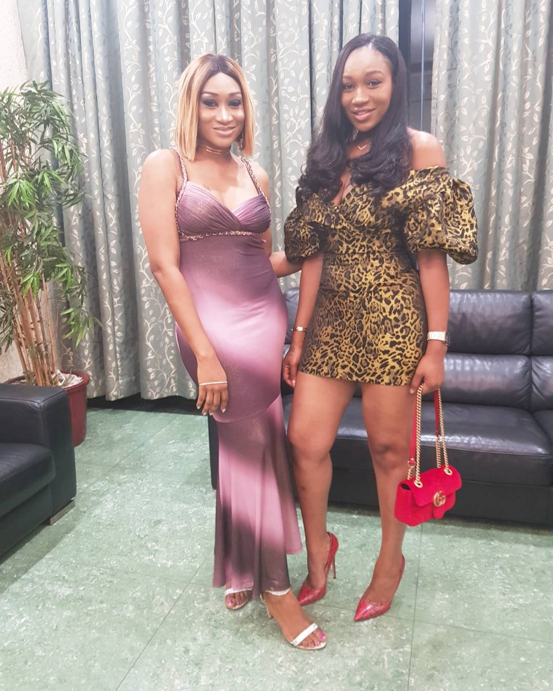 Ebube Nwagbo Pictured Alongside Oge Okoye At Her Birthday Dinner (4)