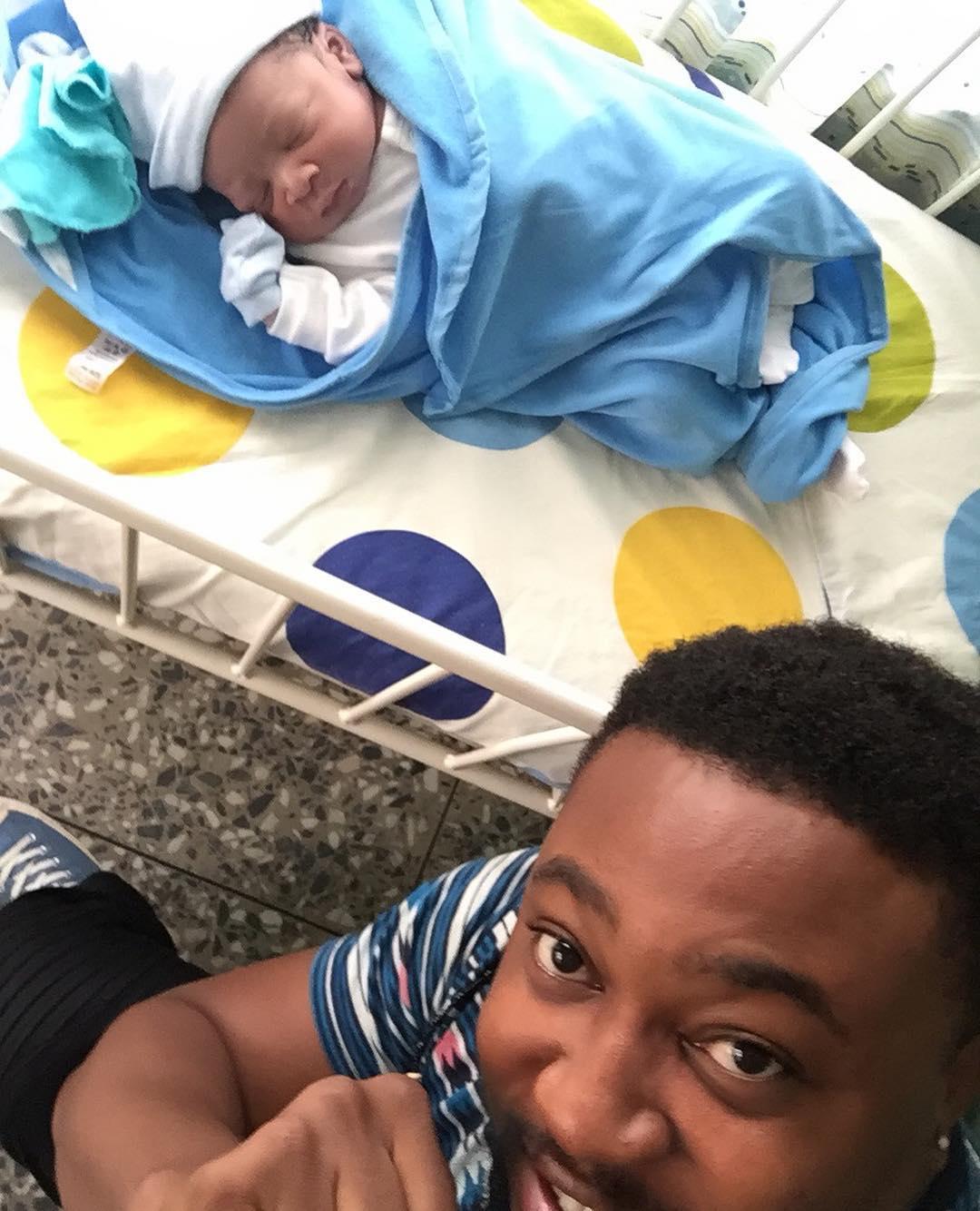 Nosa Rex And Wife Deborah Welcome Baby Boy (2)