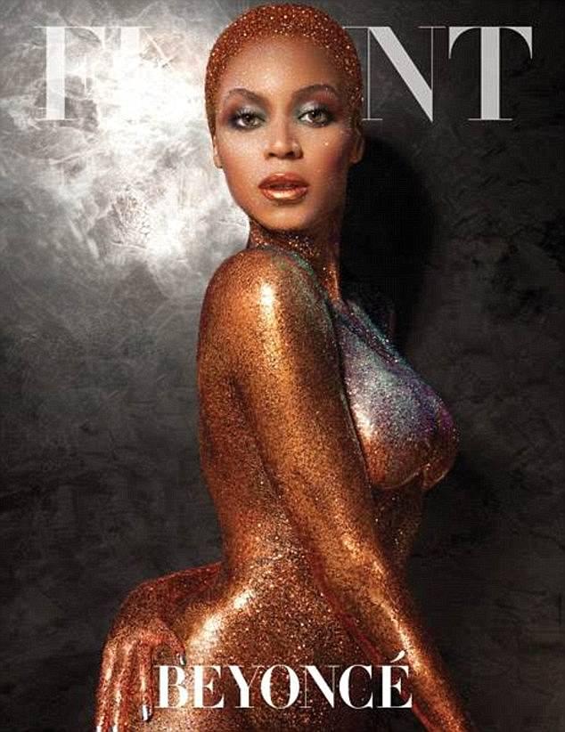 Beyonce Flaunt Magazine Shoot