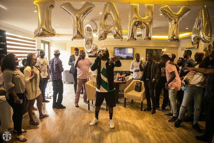 Iyanya Surprise 31st Birthday Party (4)