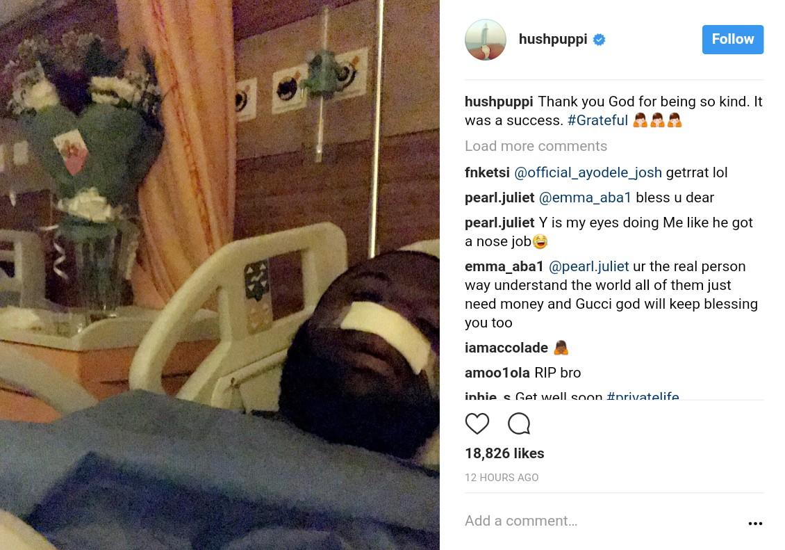 Nigerians Troll Hushpuppi After He Underwent Surgery (2)