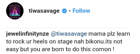 Fans Come For Tiwa Savage For Consistently Performing Barefooted (6)