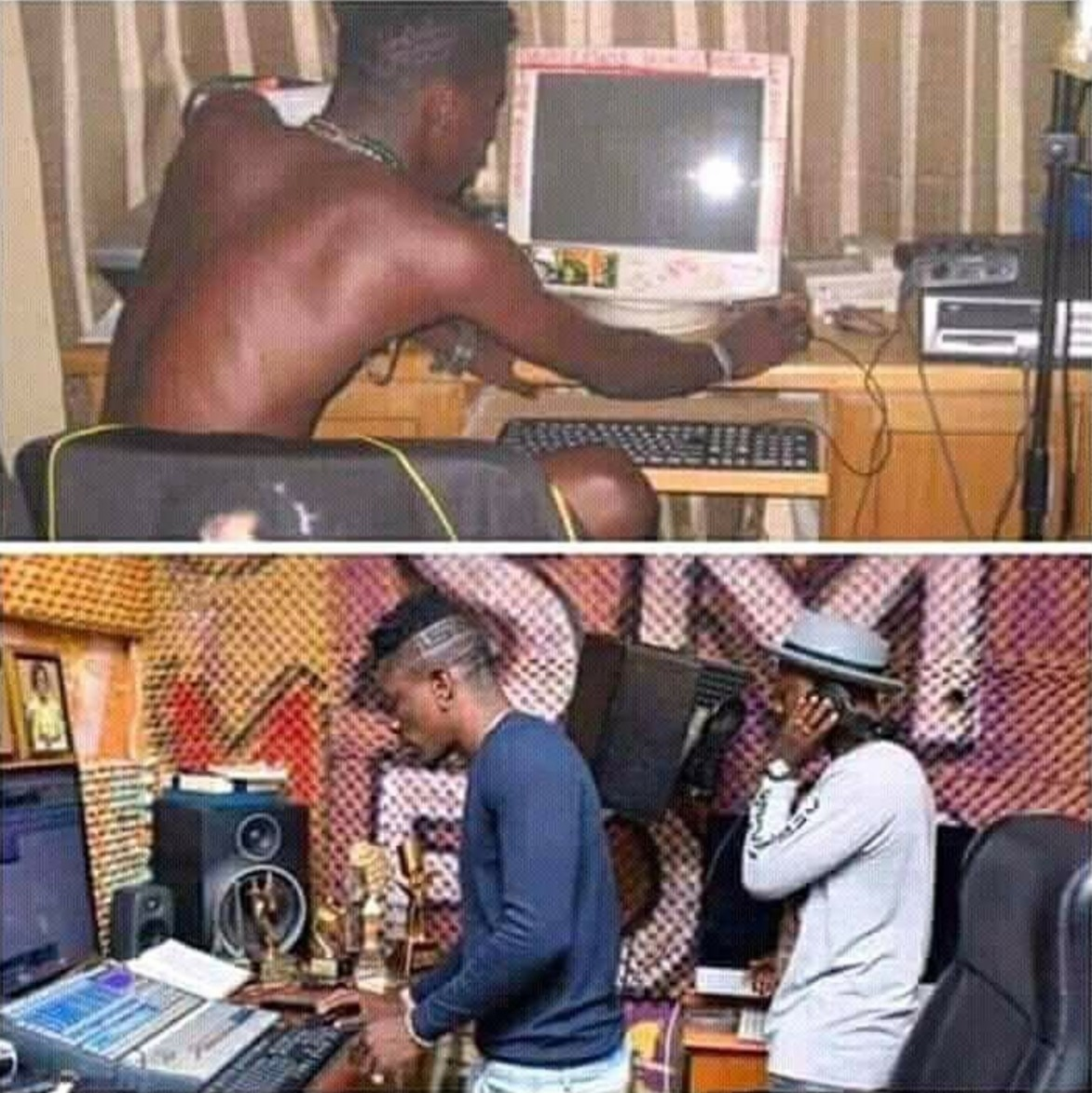 Dont Judge Me But See The Manifestation The Good Lord Brought To My Life Shatta Wale After Wizkid Feud