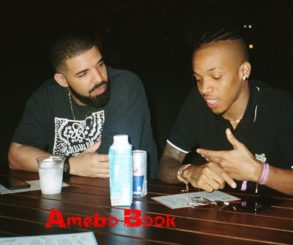 Drake Pictured Listening Impressively As Tekno Outlines His Plans