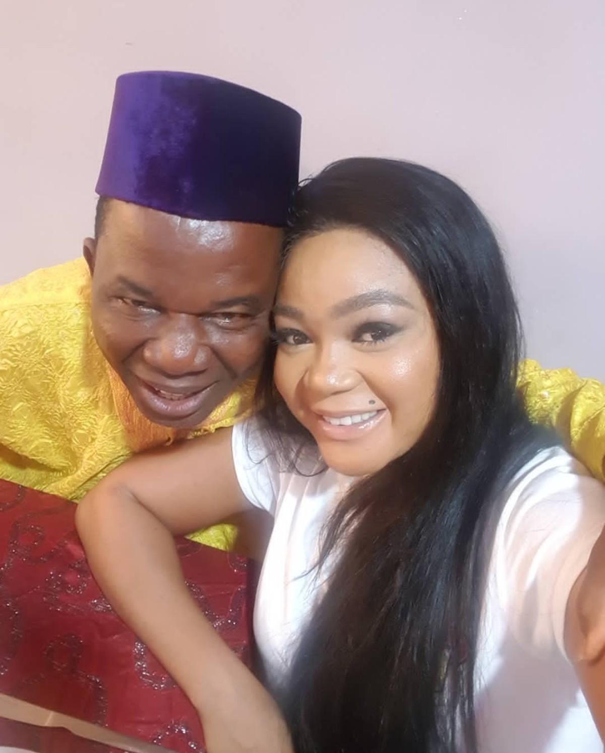 Chiwetalu Agu And Rachael Okonkwo Pose Together (2)