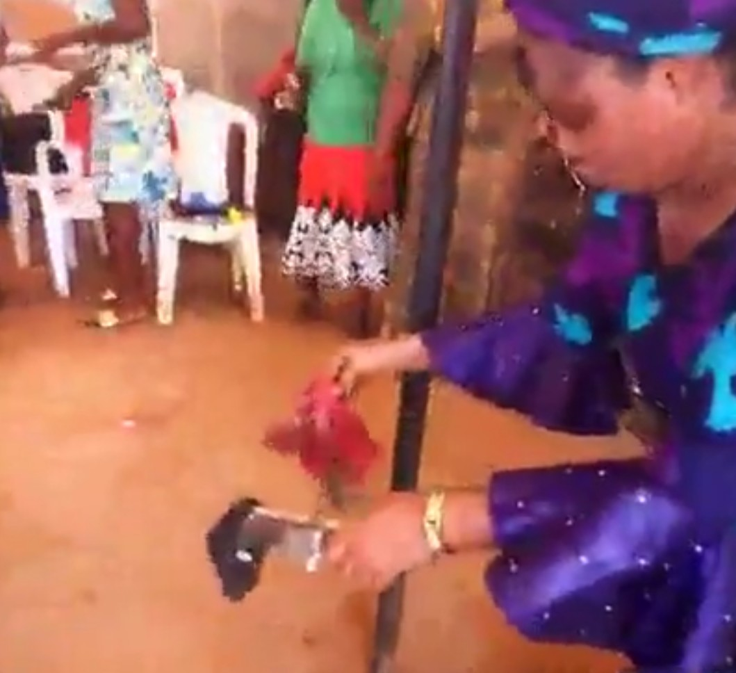 Nigerian Evangelist Who Used Hot Iron And Knife To Remove Her Tattoo (4)