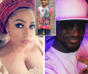 Peter Okoye And Wife Lola Omotayo Wish Daughter Aliona Happy Birthday