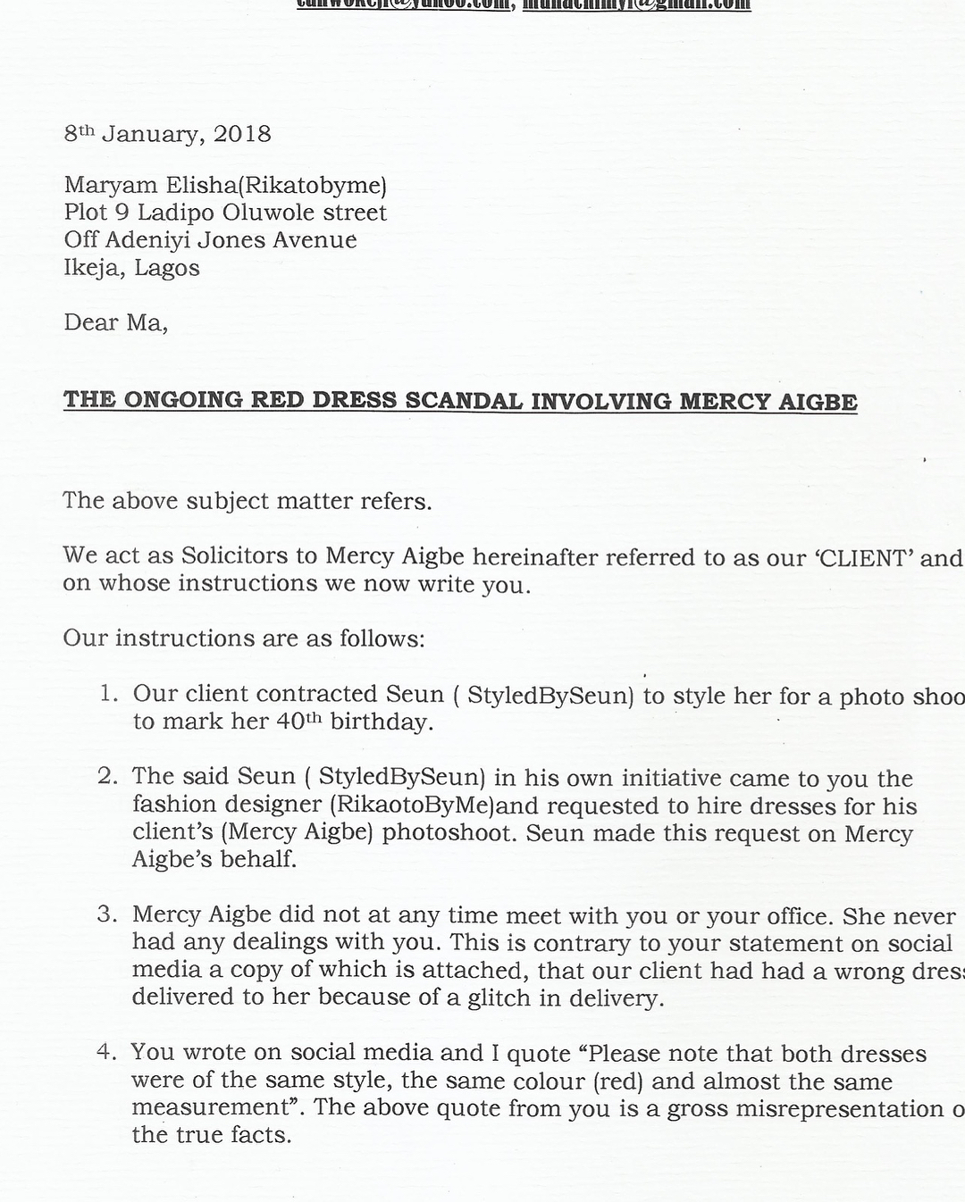 Mercy Aigbe Will Sue Rikaotobyme And The Bride (4)