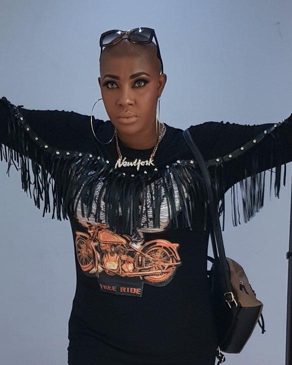 Angela Okorie Unveils New Bald Look (3)
