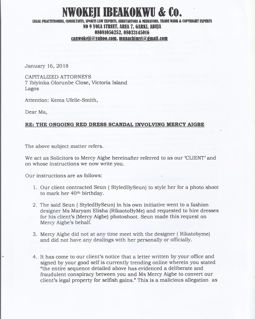 Mercy Aigbe Will Sue Rikaotobyme And The Bride (2)