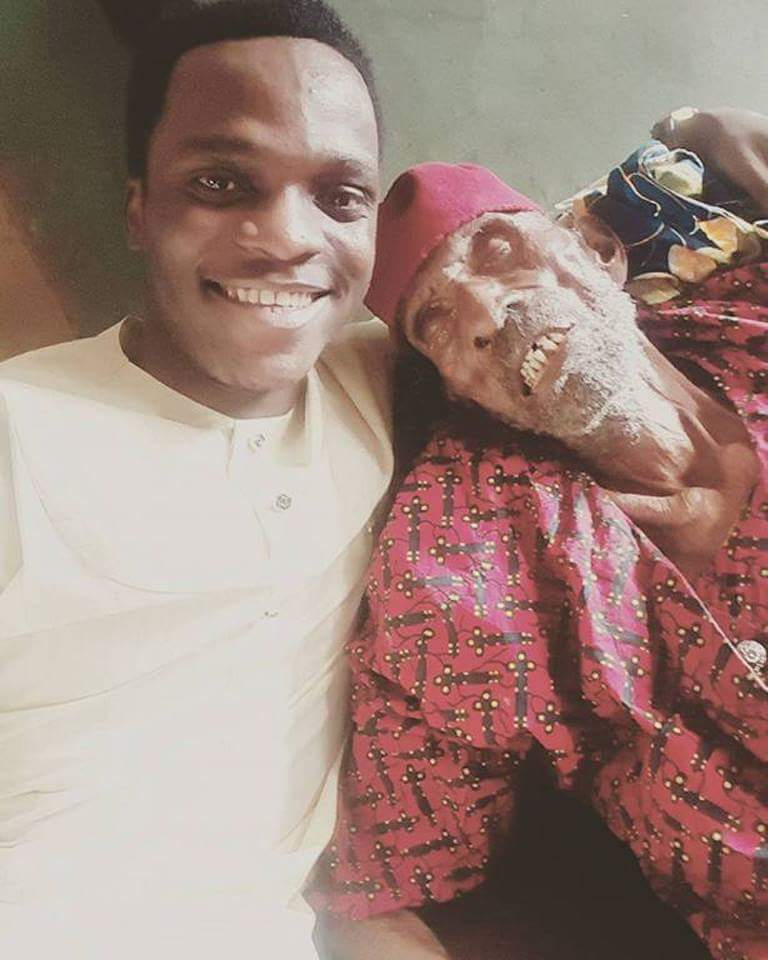 Nigerian Man Shows Off His 145-Year-Old Grandpa (4)