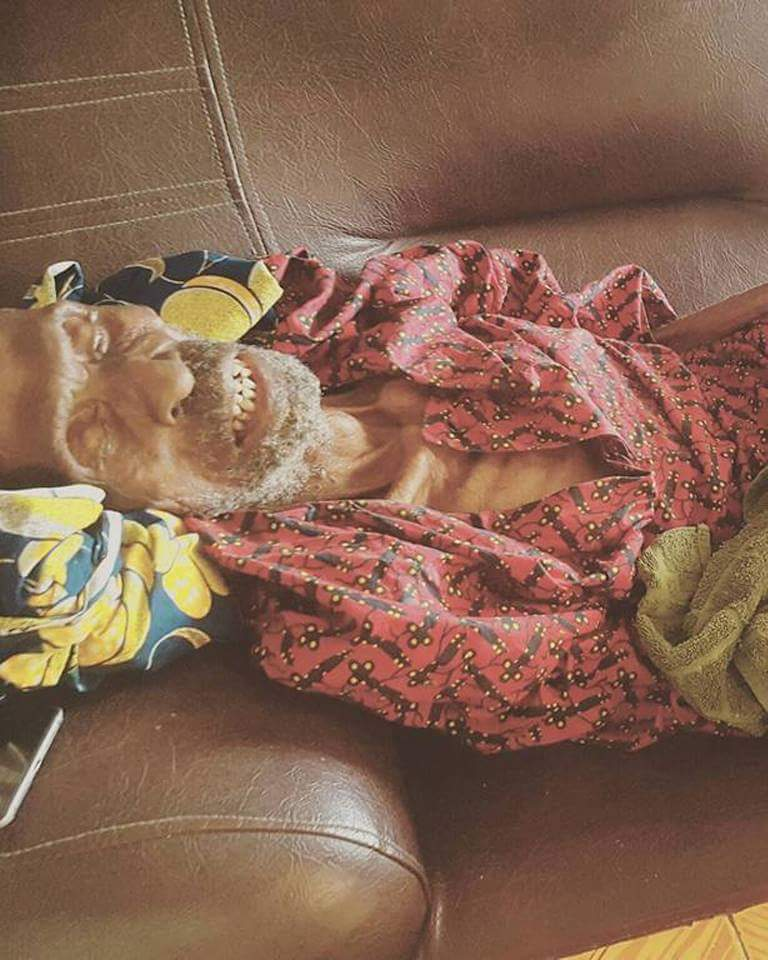 Nigerian Man Shows Off His 145-Year-Old Grandpa (5)